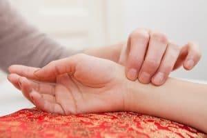 massagetherapie pols en tong diagnose